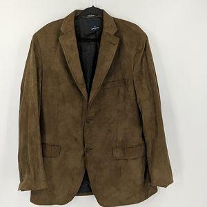 Men's DANUEL HECHTER Faux Suede Sportcoat Blazer